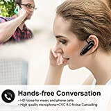[2 Pack] Bluetooth Earpiece Wireless Handsfree