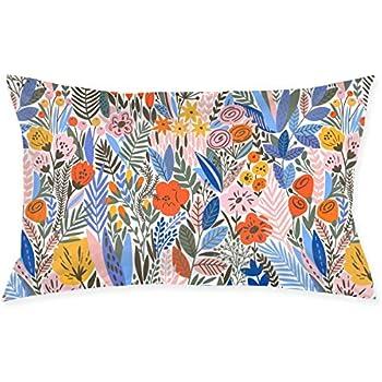 Amazon.com: SKYISOK Pillowcase Tropical Color Floral