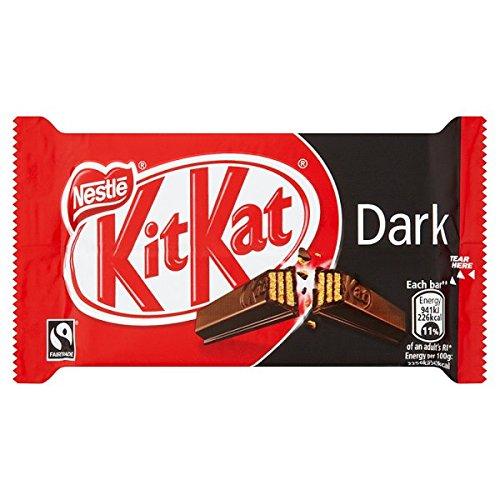 KITKAT 4 Finger 70% Dark Chocolate Bar 41.5g (Pack of 24 x 41.5g)