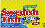 Swedish Fish Assorted Flavors, 3.5-Ounces (Pack Of 12)