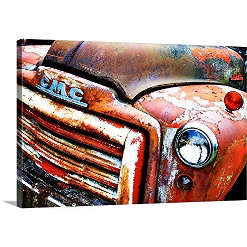 Rusty Old Truck VIII Canvas Wall Art Print, 30