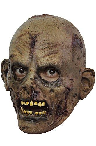 (Undead Zombie Childrens Scary Latex Head Mask Halloween Horror Fancy)