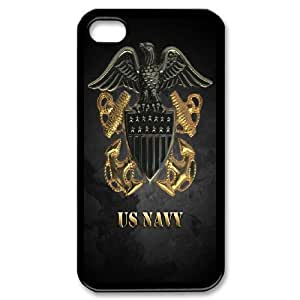 Personalized DIY Navy Seals Custom Cover Case For iPhone 4,4S A3X193312