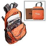 Makino Ultralight Foldable Backpack Hiking Daypack 5504 22 L Orange without Blanket