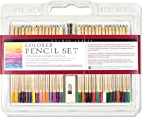 Studio Series Colored Pencil Set (Set of 30) by Peter Pauper Press (2014) Hardcover