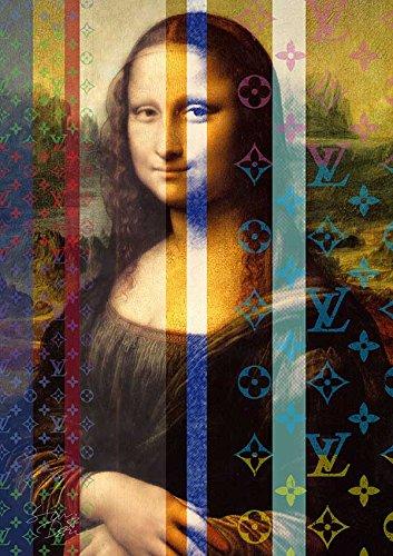 モナリザ ルイヴィトン ポップアート Louis Vuitton × Monaliza #er01 ルイヴィトン オマージュ アートポスター (A1(594×841mm)) STAR DESIGN B01LZ5NU8VA1(594×841mm)