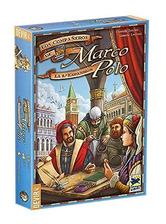 Devir Iberia-Los compañeros de Marco Polo (226089): Amazon.es ...