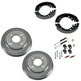 99 honda civic brake kits - Rear Brake Shoes 2 Drums & Hardware Spring Kit Set for Honda Civic Fit