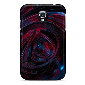 Tpu Cases Covers For Galaxy S4 Strong Protect Cases - 3d Abstract Design