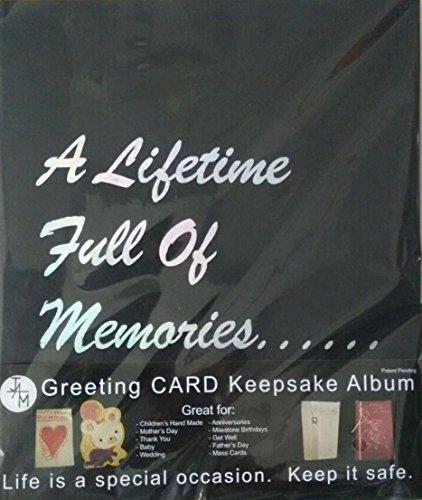 Amazon ja marketing inc 4 greeting card keepsake album black ja marketing inc 4 greeting card keepsake album black m4hsunfo