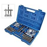 AllRight Bearing Splitter Gear Puller Fly Wheel Separator Tool Set With Box Blue 12 Pcs