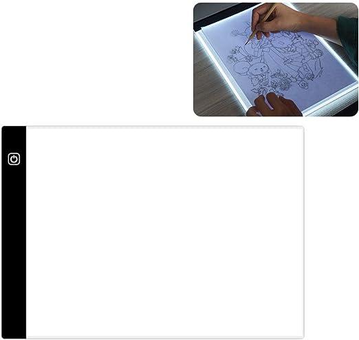 MAICOLA Gráfico USB Tablero de Dibujo A4 Mesa de luz LED de luz de ...