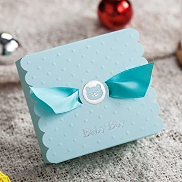 Amazon 30pcs blue baby boy candy gift boxes baby shower 30pcs blue baby boy candy gift boxes baby shower favors lot negle Images