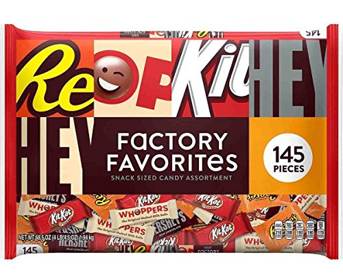 Hershey's Factory Favorites, Snack Size (145 - Factory Hershey Store