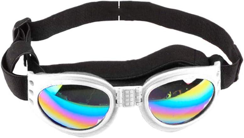 minishop659 Foldable Dog Sunglasses Wind-Proof Anti-Picking UV Proof Glasses Pet Supplies Photo Props