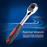 """Heavy Duty Socket Wrench 1/4"""" Quick Ratchet Wrench"""