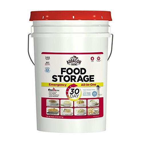 Augason Farms 30 Day All-In-One Emergency Food Storage Pail 29 lbs 4.37 oz