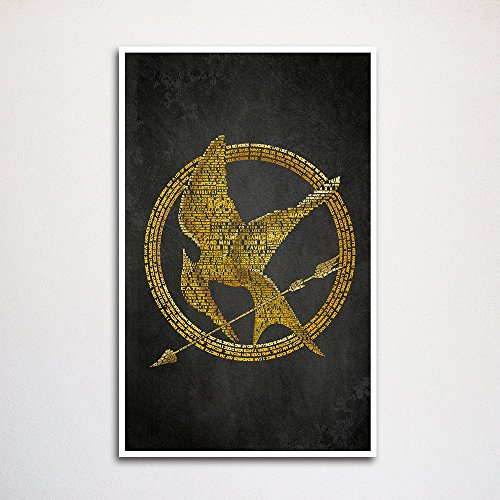 Hunger Games word art print -11x17""