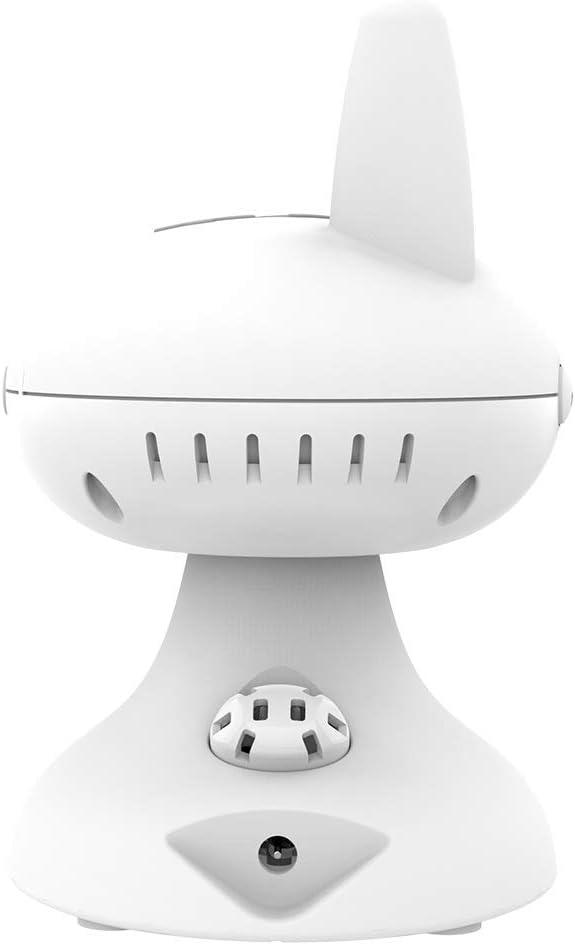 MiniBoss Moniteur B/éb/é 3.5LCD Babyphone Vid/éo Couleur Cam/éra Surveillance Sans Fil VOX Vision Nocturne Communication Bidirectionnelle Berceuses Batterie Rechargeable 2 Cam/éras