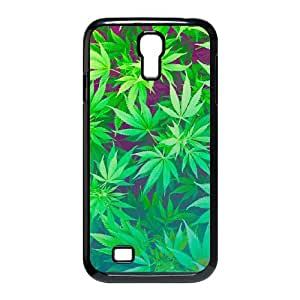 Samsung Galaxy S4 I9500 Phone Case for Marijuana Leaf grass pattern design