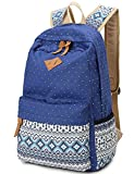 Best Leaper Lightweight Laptops - Leaper Geometry Dot Casual Canvas Backpack Bag Fashion Review
