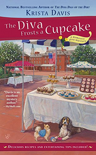 The Diva Frosts A Cupcake  A Domestic Diva Mystery