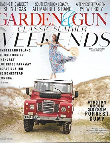 garden & Gun magazine June/July 2019 {Classic Summer Weekends}