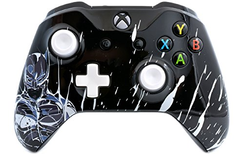 Black Knight Xbox One S Rapid Fire Custom Modded Controller 40 Mods for All Major Shooter Games, Auto Aim, Quick Scope, Auto Run, Sniper Breath, Jump Shot, Active Reload & More (with 3.5 Jack)
