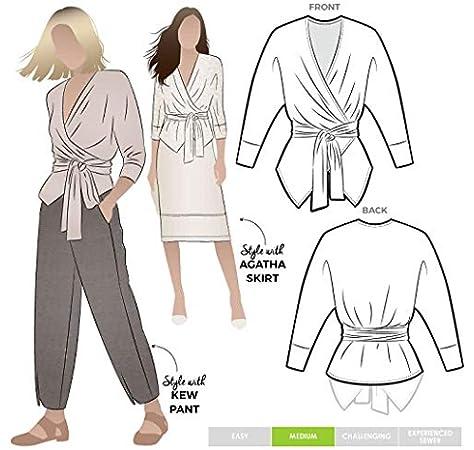 /Tully Pant Style Arc Patron de couture/ Sizes 04-16