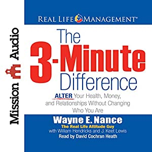 The 3-Minute Difference Hörbuch