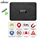 TKSTAR GPS Tracker for Vehicles Car Motorcycle Trucks Waterproof GPS Loctor Finder Strong Magnetic Realtime Track Accurate Position Voice Monitor Tracking Device 10000mah120 Days Long Standby TK915
