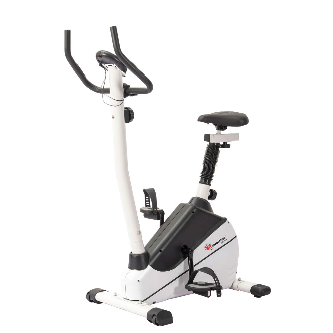 PowerMax Fitness BU-610 Magnetic Exercise Upright Bike