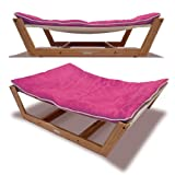 Pet Lounge Studios Bambu Hammock II Large Passion Pink OS -Kids