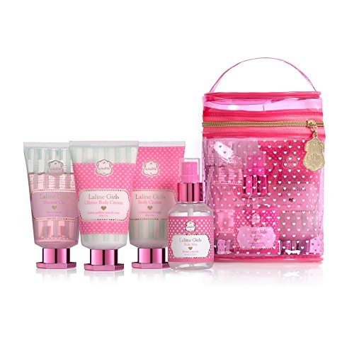 Girls mini kit Laline Girls 4 pieces Gift with pouch