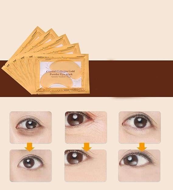 Amazon.com: Máscara de ojos de colágeno ❤️ Almohadillas de ...