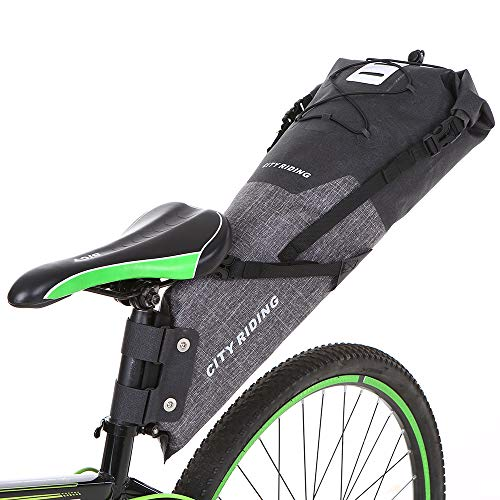 Cycling Sports & Entertainment Conscientious Bicycle Rear Seat Bag Mountain Bike Carrier Rack Seat Trunk Bag Shoulder Handbag With Rain Cover Large Bag Bike Accessories