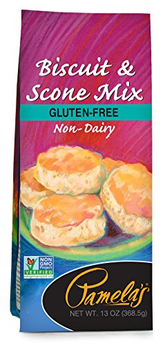 Pamela's Products Gluten Free Biscuit and Scone Mix, 13 Ounce - Gluten Free Scone