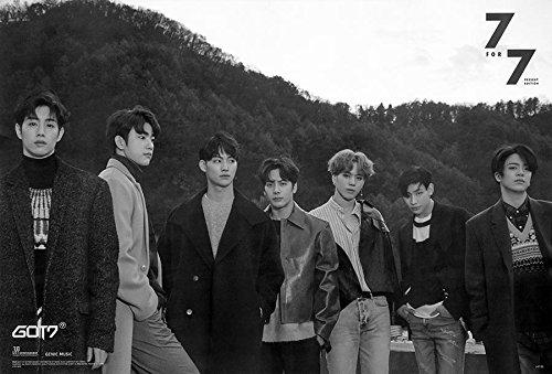 GOT7 7 FOR 7 Korean Boy Band Kpop Wall Decoration Poster (#039)