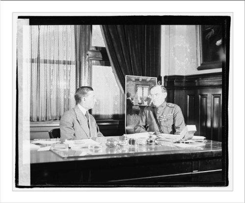 Historic Print (L): Will Hayes & Brig. Genrl. Logan Feland, - Hayes Logan