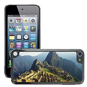 Print Motif Coque de protection Case Cover // V00002679 Machu Picchu // Apple ipod Touch 5 5G 5th 6 6G 6th