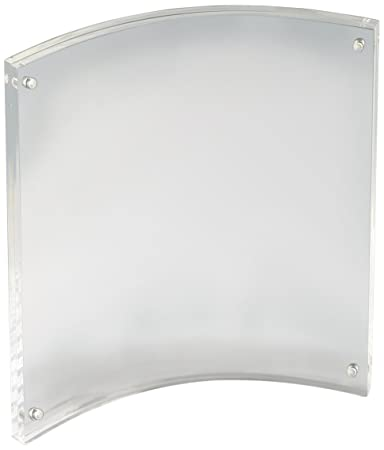Amazon.com : Displays2go PFCM8511PV Clear Acrylic Picture Frames for ...