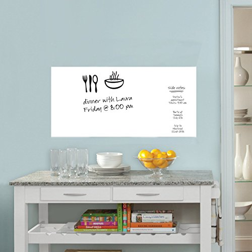 Dry Erase Whiteboard Wall Sticker Removable Planning
