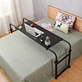 Overbed Table with Wheels Overbed Desk Over Bed