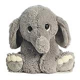 "EBBA Lil' Benny Phant Grey Baby Plush Elephant 10"""