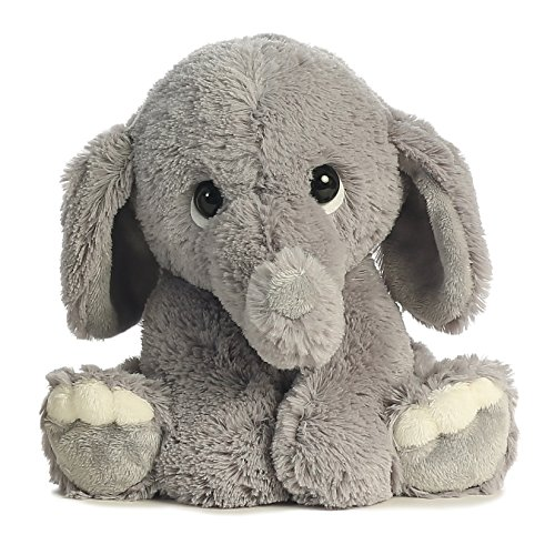 Amazon Com Aurora World Lil Benny Phant Grey Plush Toys Games