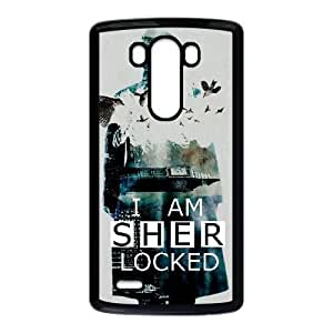 LG G3 cell phone cases Black Sherlock fashion phone cases GFL2851845