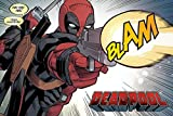 Deadpool Blam Poster (One Size) (Multi-color)