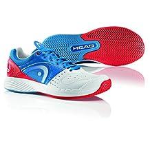 Head Sprint Team Men's Tennis Shoe-Black/White/Lime-US Size 10.0