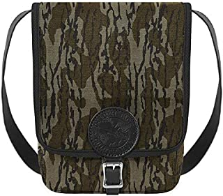 product image for Duluth Pack Haversack with Leather Trim, Mossy Oak Bottomland, 11 x 8 x 4-Inch