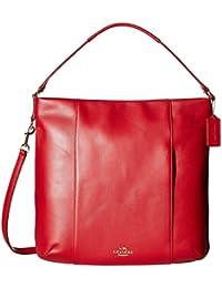 Womens Leather Isabelle Shoulder Bag
